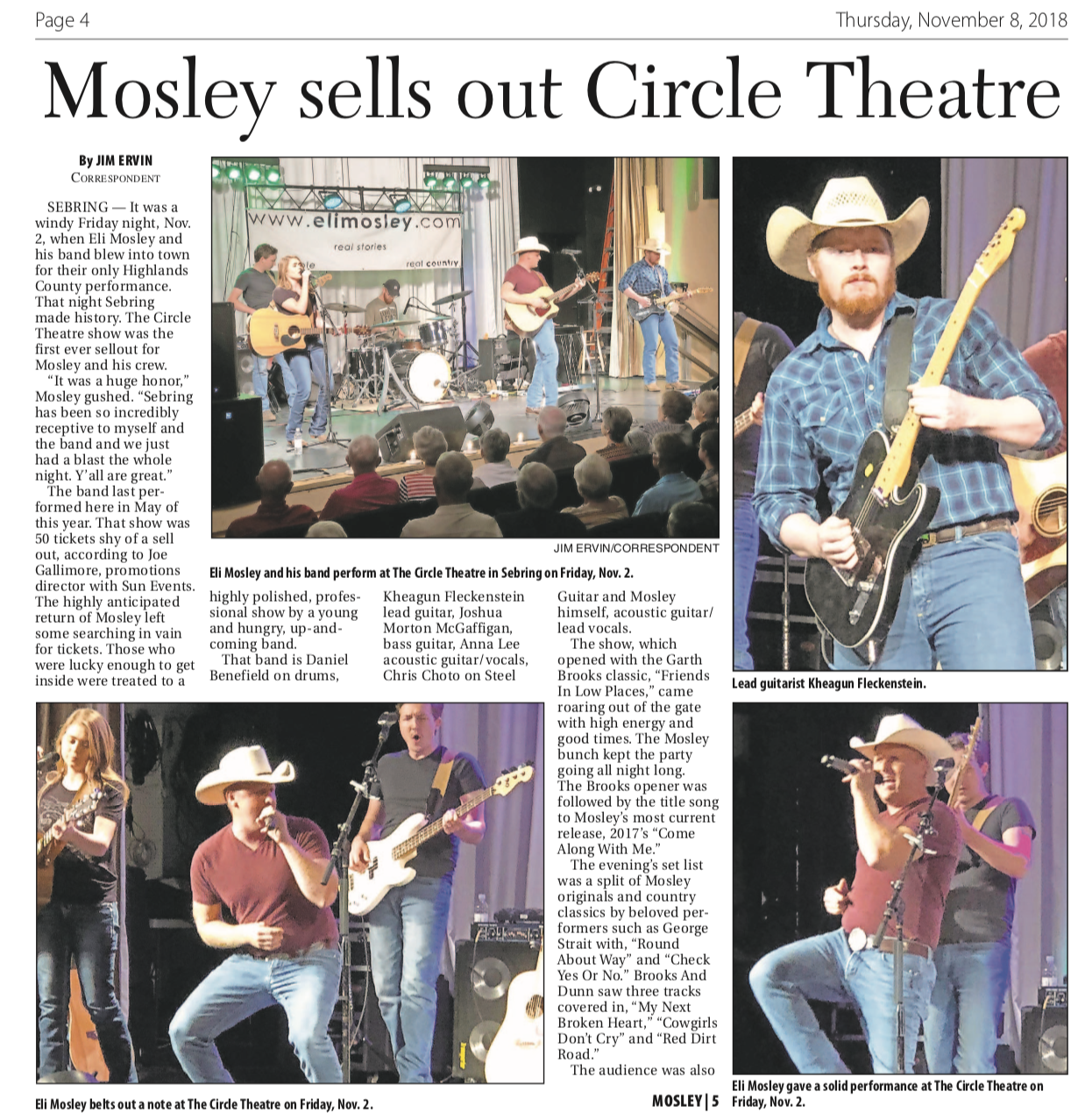 Great Article About The Sebring Show!